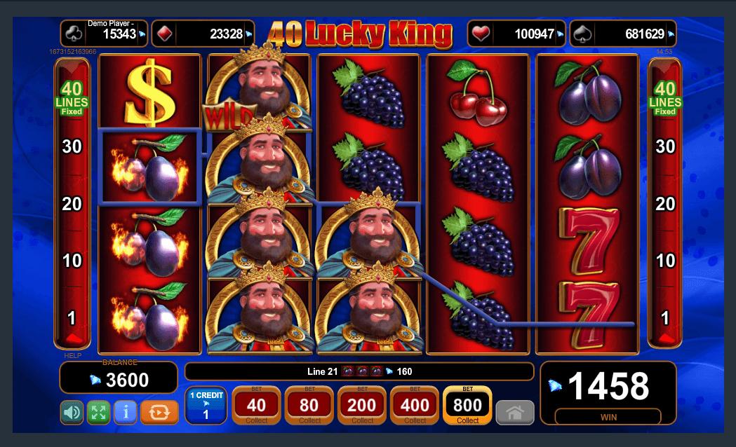 EGT Interactive 40 Lucky King