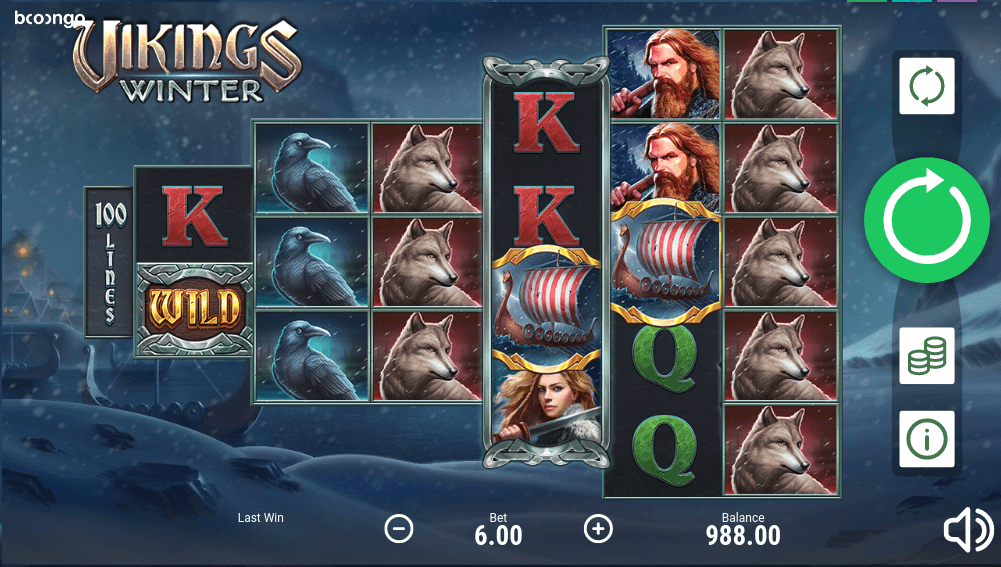 Vikings Winter Booongo