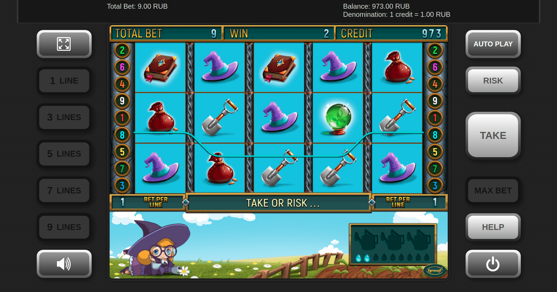 Igrosoft slot game