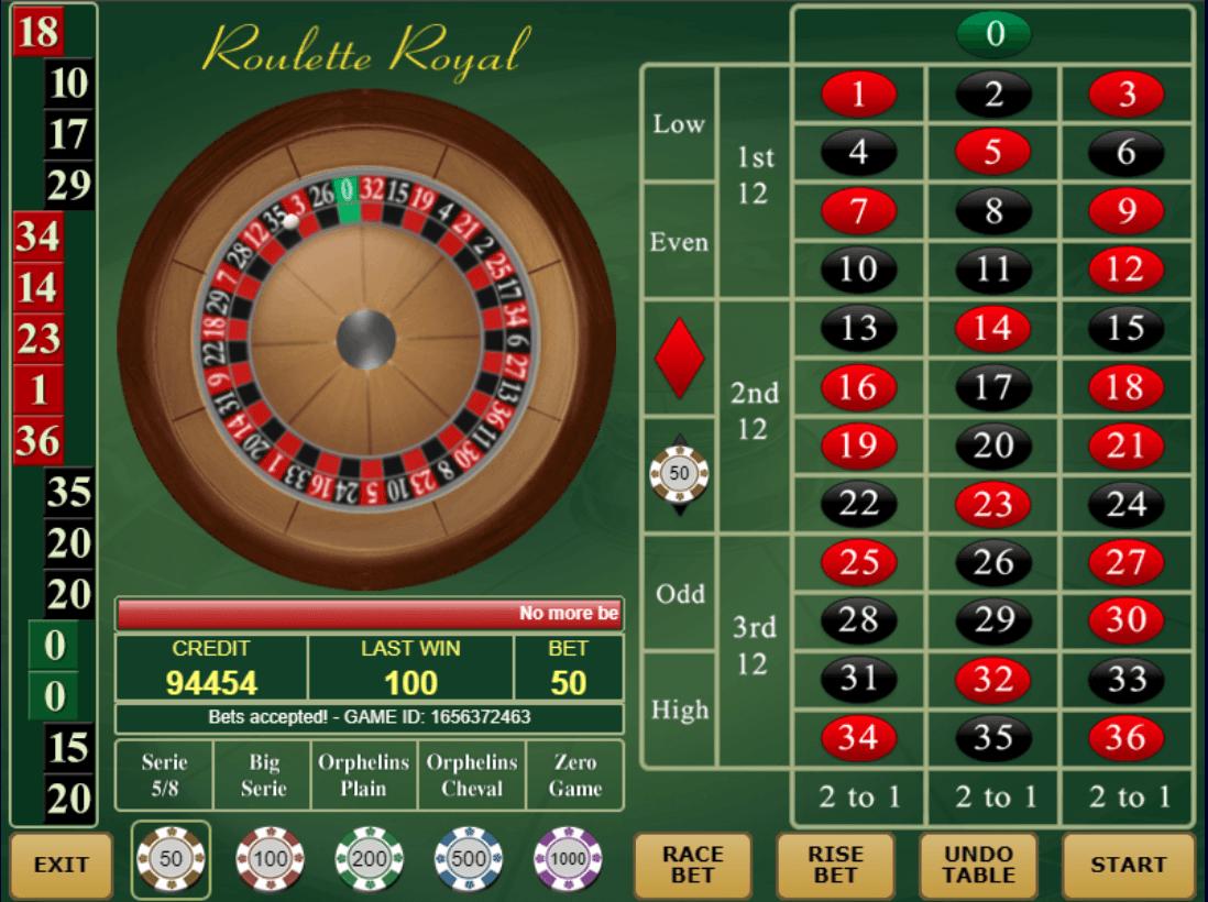 amatic Roulette Royal