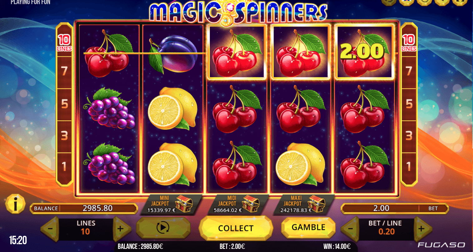 Magic Spinners Fugaso