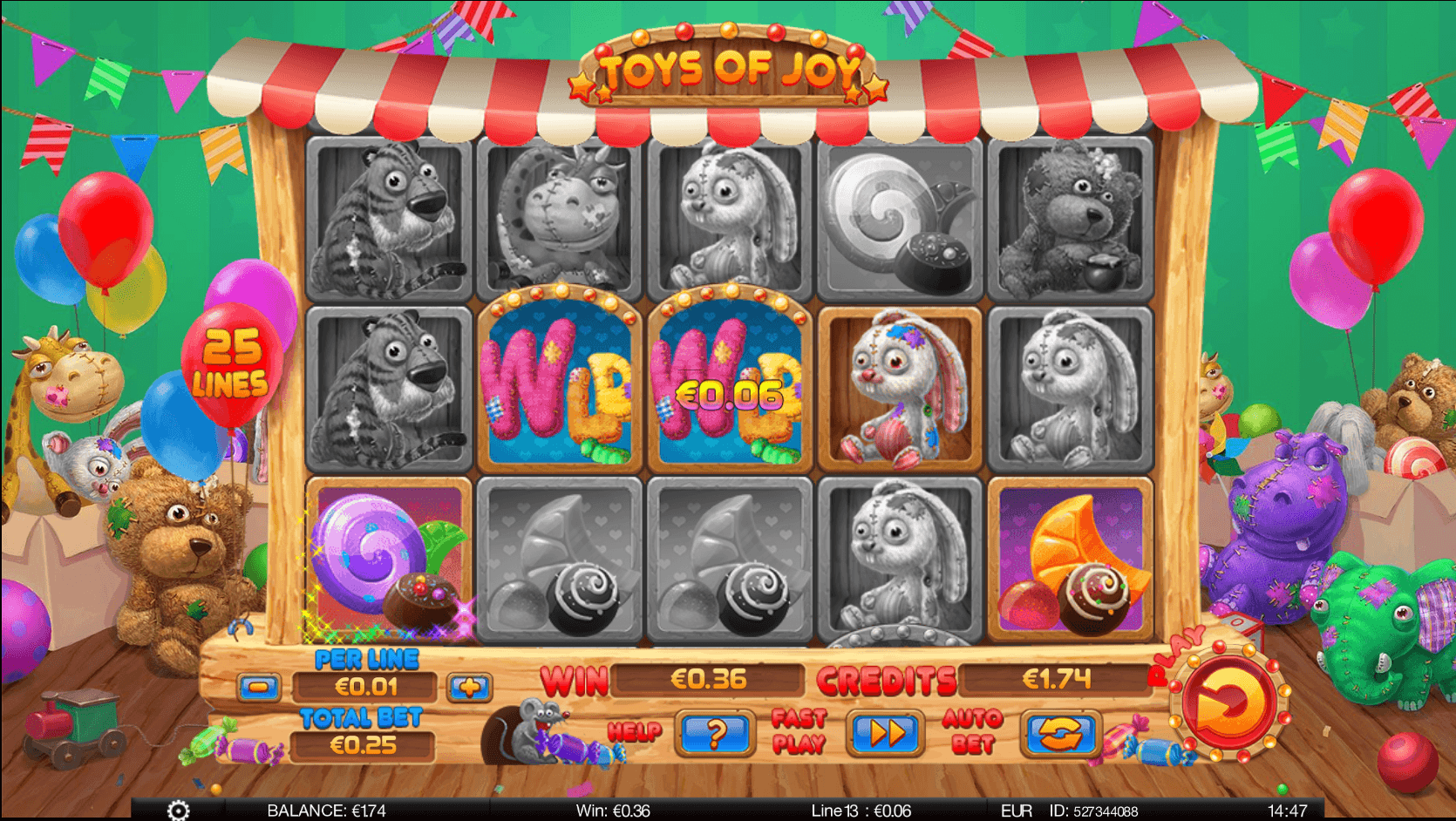 Toys of Joy Spinomenal